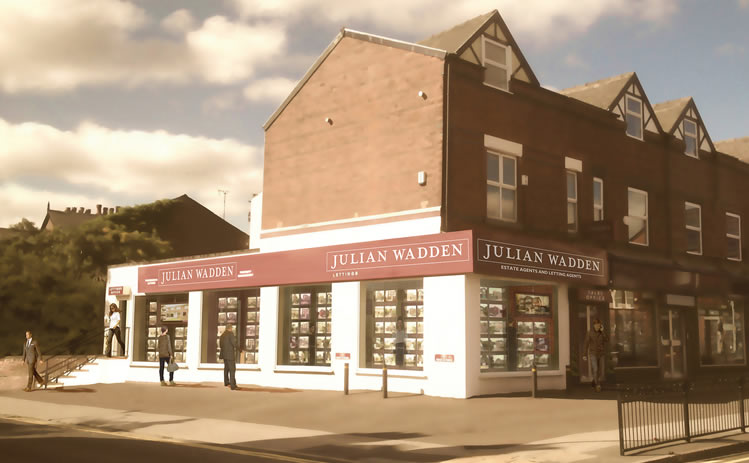 JULIAN WADDEN THE HEATONS BRANCH