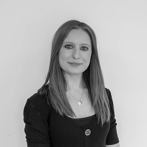 AIMÉE HALLAM, MARKETING ASSISTANT